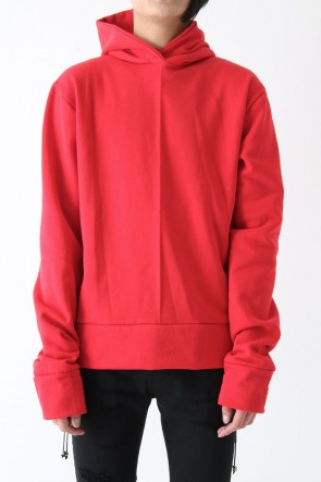 17SS OVERSIZED HOODIE RED