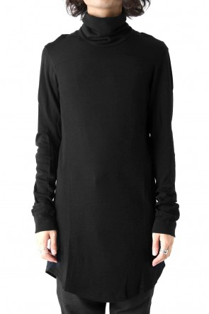 High Neck Long Sleeve Wool & Rayon