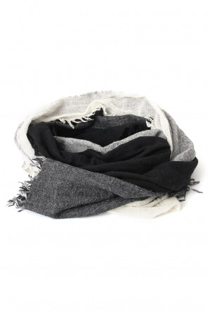 Needle Punch Wool Scarf