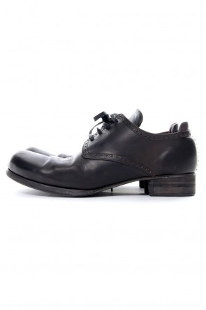 DEVOA 17SS Guidi Leather shoes Lead Black