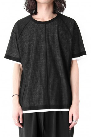 The Viridi-anne 18SS Tereko Short Sleeve Layered Tee