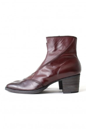 Calf Leather Bullet Boots