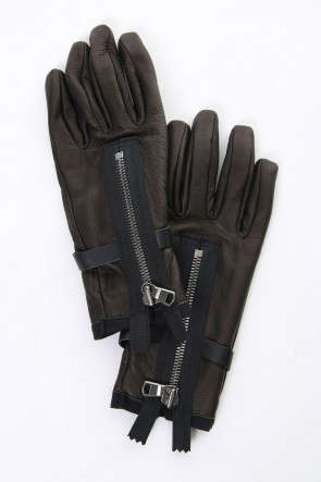 The Viridi-anne 18-19AW Deer Leather Gloves