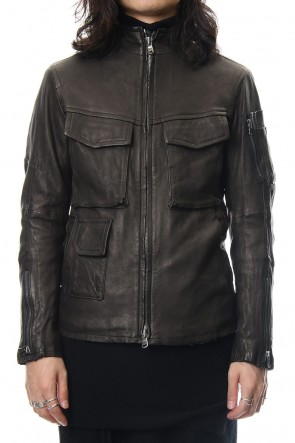 The Viridi-anne 18-19AW Leather Blouson