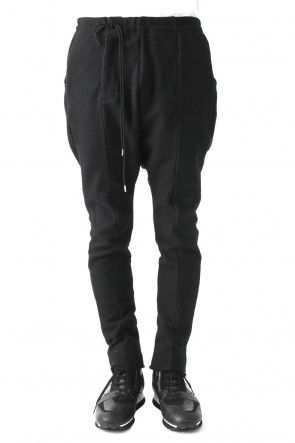 Cotton Wool Combination Sarouel Pants