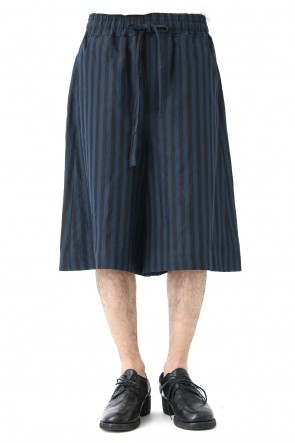DAMIR DOMA 18SS Striped Cotton WIde Shorts POLE