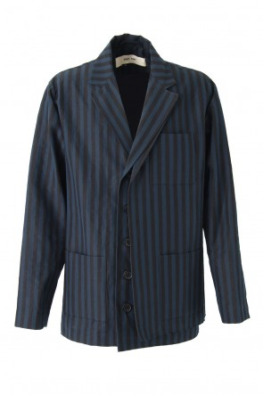 DAMIR DOMA 18SS Striped Cotton Jacket JANLI