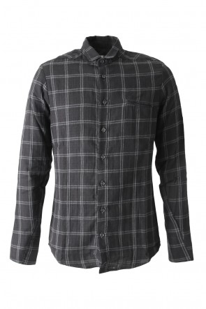 Hannibal 17-18AW Shirt Jesse Cotton Black Checked