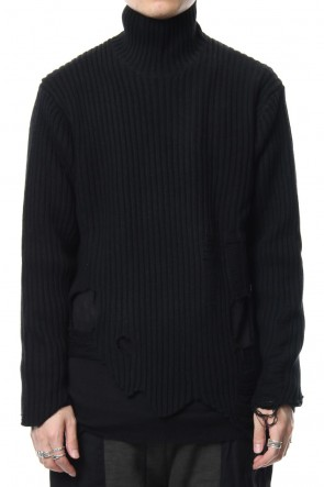 The Viridi-anne 18-19AW Damage knit