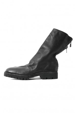 Guidi  Back Zip Boots Sole Rubber - Horse Full Grain Leather