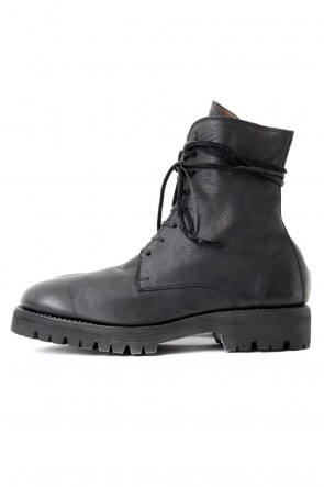Guidi 17-18AW Laced Up Boots Sole Rubber - Hand Dyed Leather