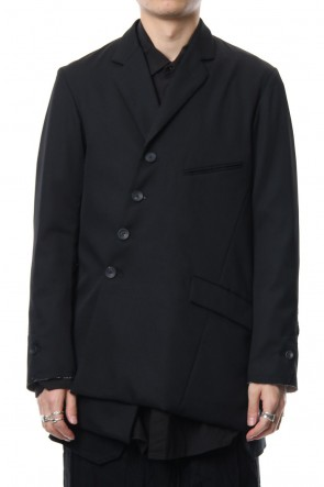 The Viridi-anne 18-19AW Wool gabardine jacket