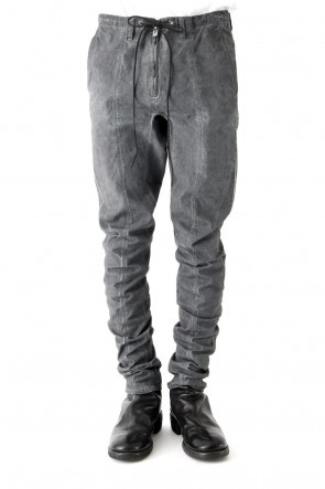 SADDAM TEISSY18SSCold Dye Tight Curved Pants