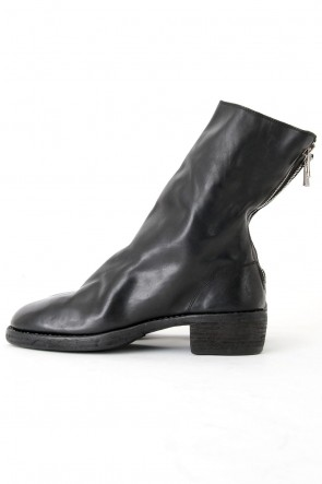 Guidi Classic Back Zip Boots Double Sole - Horse Full Grain Leather
