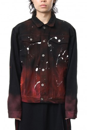 CAVIALE 18-19AW Bleached Denim Jacket