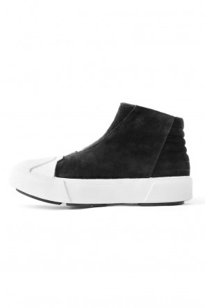 W TOE CUP SNEAKERS LEATHER