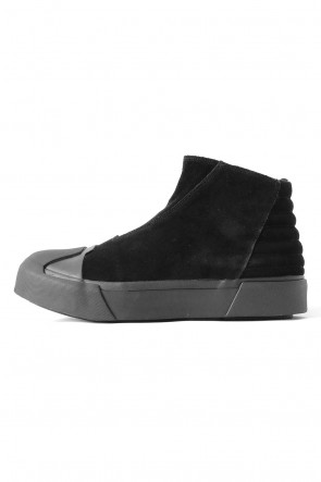 JULIUS 17-18AW W TOE CUP SNEAKERS LEATHER