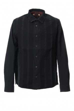 ZIGGY CHEN 18-19AW Stripe Taping Shirt