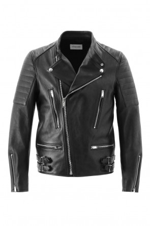 LITHIUM HOMME 16-17AW LAMB LEATHER BIKERS JACKET