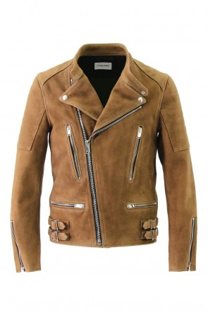 LITHIUM HOMME 16-17AW SUEDE BIKERS JACKET