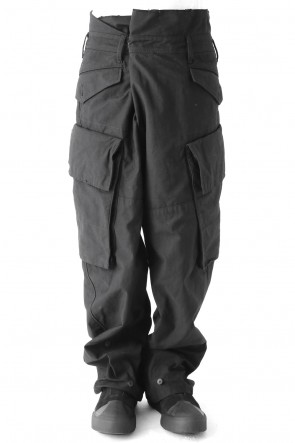 JULIUS 17-18AW BAGGY CARGO PANTS