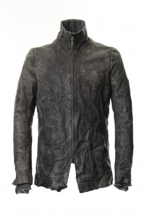 SADDAM TEISSY 19-20AW Destroy dyed Horse leather jacket - ST105-0049A