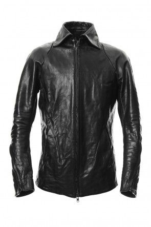 SADDAM TEISSY 19-20AW Detachable collar Horse leather jacket - ST105-0019A