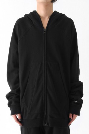 COTTON SWEAT EXTRA OVER ZIP PARKA Ver.1