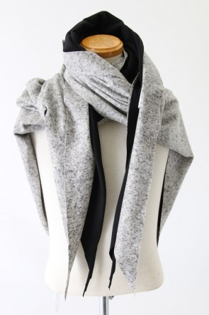 individual sentiments 13-14AW STOLE A17-LJ29 SILKY RAISING WOOL