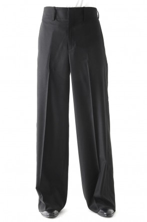 GalaabenD 17-18AW MICRO T/R GABARDINE STRETCH PANTS