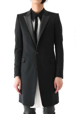 TUXEDO CLOTH STRETCH COAT