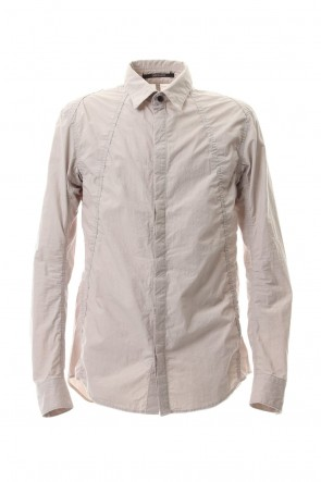D.HYGEN 20SS Light Typewriter Buckling Shirt