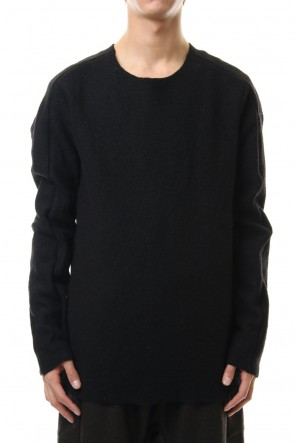 WARE 19-20AW Boucle L/S Knit Black