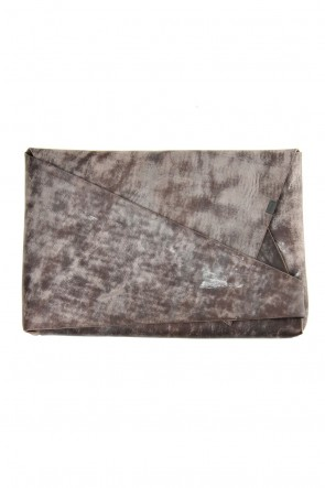 No,No,Yes! 19-20AW No,No,Yes!  -shosa- Clutch bag (S) Smoking Gray