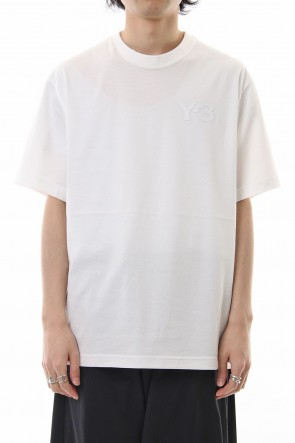 Y-3 19SS Y-3 Logo Tee Core White