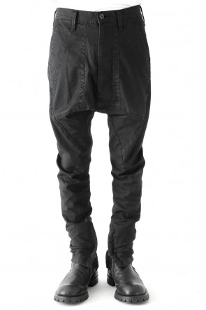SEAMED FRONT CROTCH PANTS