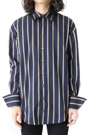GalaabenD 18SS LINE STRIPE LOOSE SHIRTS