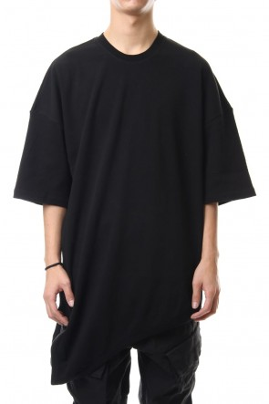 JULIUS 20PS LOOP T-SHIRT Black