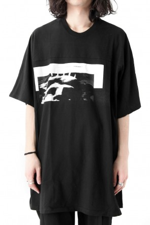 JULIUS 18SS S.O.L BIG T-SHIRT - JULIUS