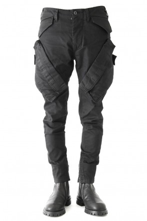 JULIUS 18PS VERTICAL GASMASK CARGO PANTS