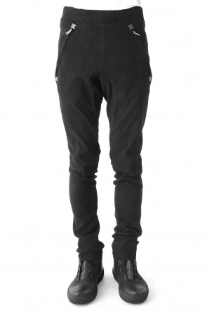 ISAAC SELLAM 17-18AW Stretch Leather Pants REDOUTABLE