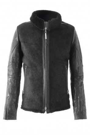 ISAAC SELLAM 17-18AW Mouton Jacket ALARMANT
