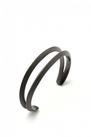 IVXLCDM  IVXLCDM DUAL BANGLE TRIANGLE MATTE BLACK