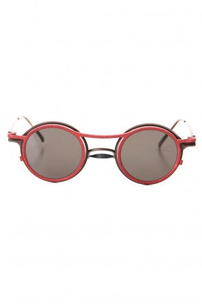 The Viridi-anne 19-20AW RIGARDS collaboration sunglasses - A.Brown / C.Red