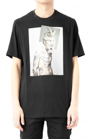 Neil Barrett 18S Tattooed Statue Print T-shirt