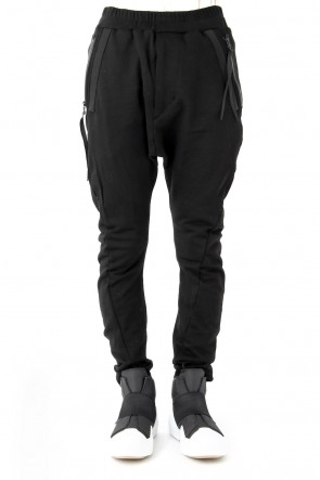 JULIUS 18SS WEBBING TWISTED PANTS - JULIUS