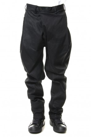 JULIUS 19SS TUCKED BAGGY PANTS