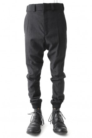 Easy Pants Wool Hight twist Hound's Tooth (FASCINATE Limited)