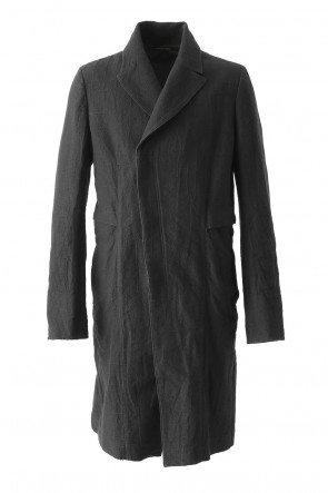Jacquard Double Breasted Coat
