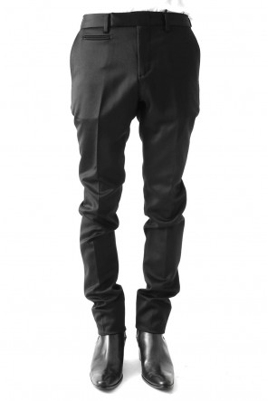 GalaabenD 17-18AW TUXEDO CLOTH STRETCH PANTS